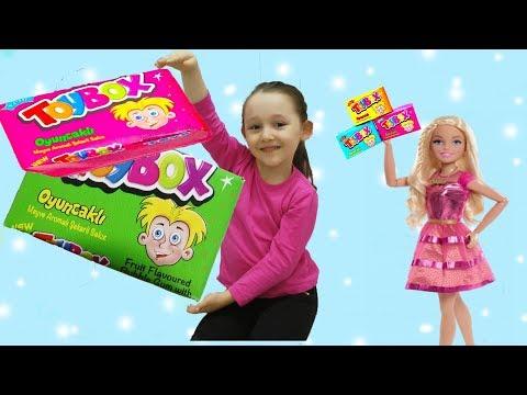 ÖYKÜ SÜRPRİZ OYUNCAKLI TOYBOX KUTUSU AÇIYOR surprise toy box