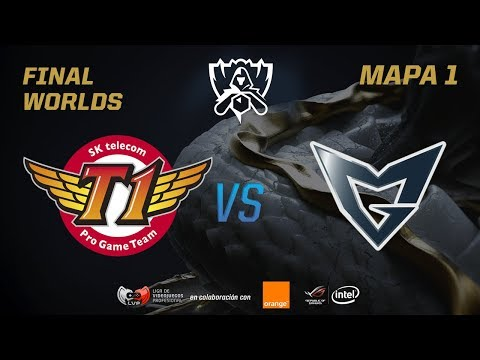 SK TELECOM T1 VS SAMSUNG GALAXY  - FINAL - WORLDS 2017 - MAPA 1
