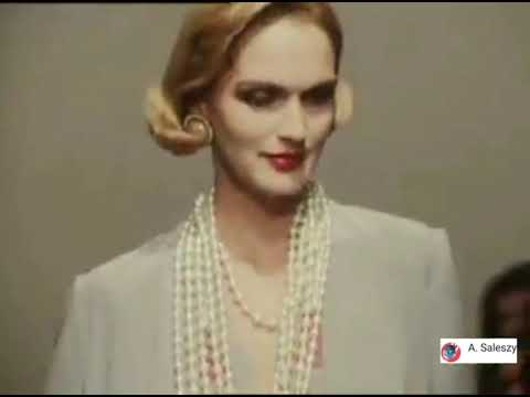 Chanel Haute Couture Spring/summer 1983 (First Collection By Karl Lagerfeld For Chanel)