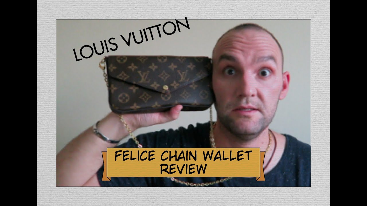 Louis Vuitton - FELICIE Chain Wallet Unboxing and Review - YouTube d75b65e49dc1b