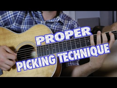 Proper Guitar Picking Technique