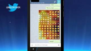 Telegram Android App On BlackBerry Z10 | 10.2.1