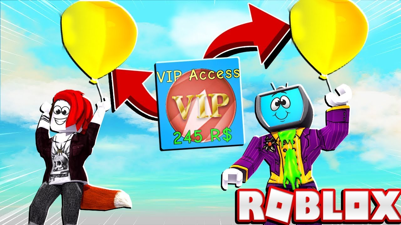 Buying The Overpowered Vip Gamepass In Roblox Balloon Simulator - balloon gamepass roblox