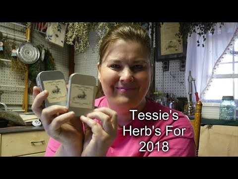 Tessie's Herb Picks Collaboration  for 2018   DIY Foot Salve