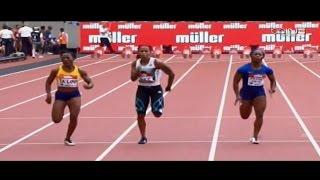 Marie Ta Lou (10.96 sec) upsets Shelly Ann Fraser Pryce to take 100m at 2016 Diamond League London