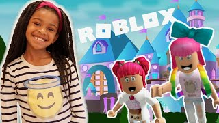 Naiah And Elli at Slime School! Live Roblox Let's Play