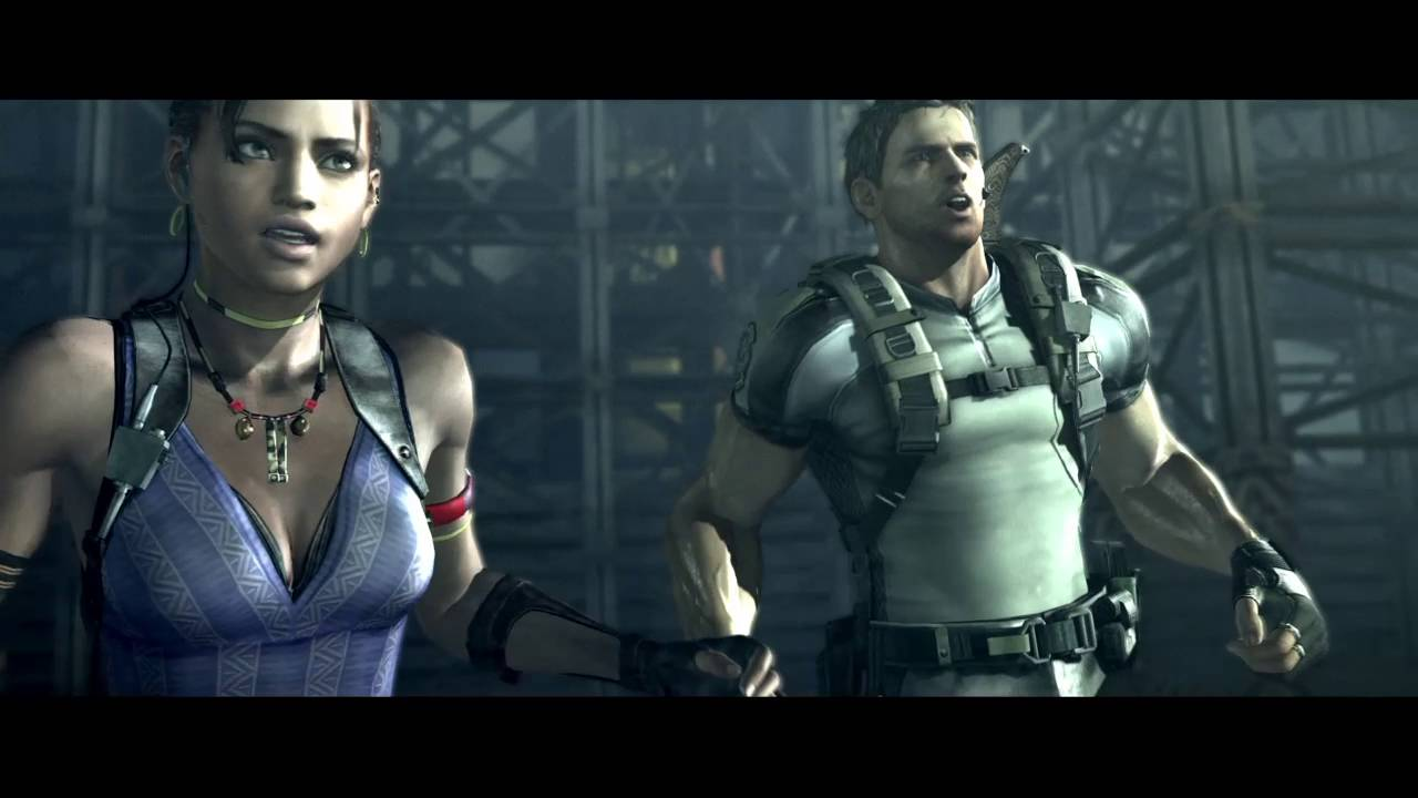 Resident Evil 5 Splitscreen Campaign Wesker Fight Ps4 Local