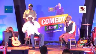 Alex Muhangi Comedy Store April 2019 - Sevo