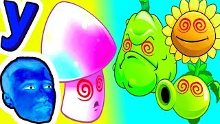 ГипноГриб Заколдовал все РАСТЕНИЯ ПРоХоДиМЦа! #355 ИГРА для ДЕТЕЙ - Растения против ЗОМБИ 2