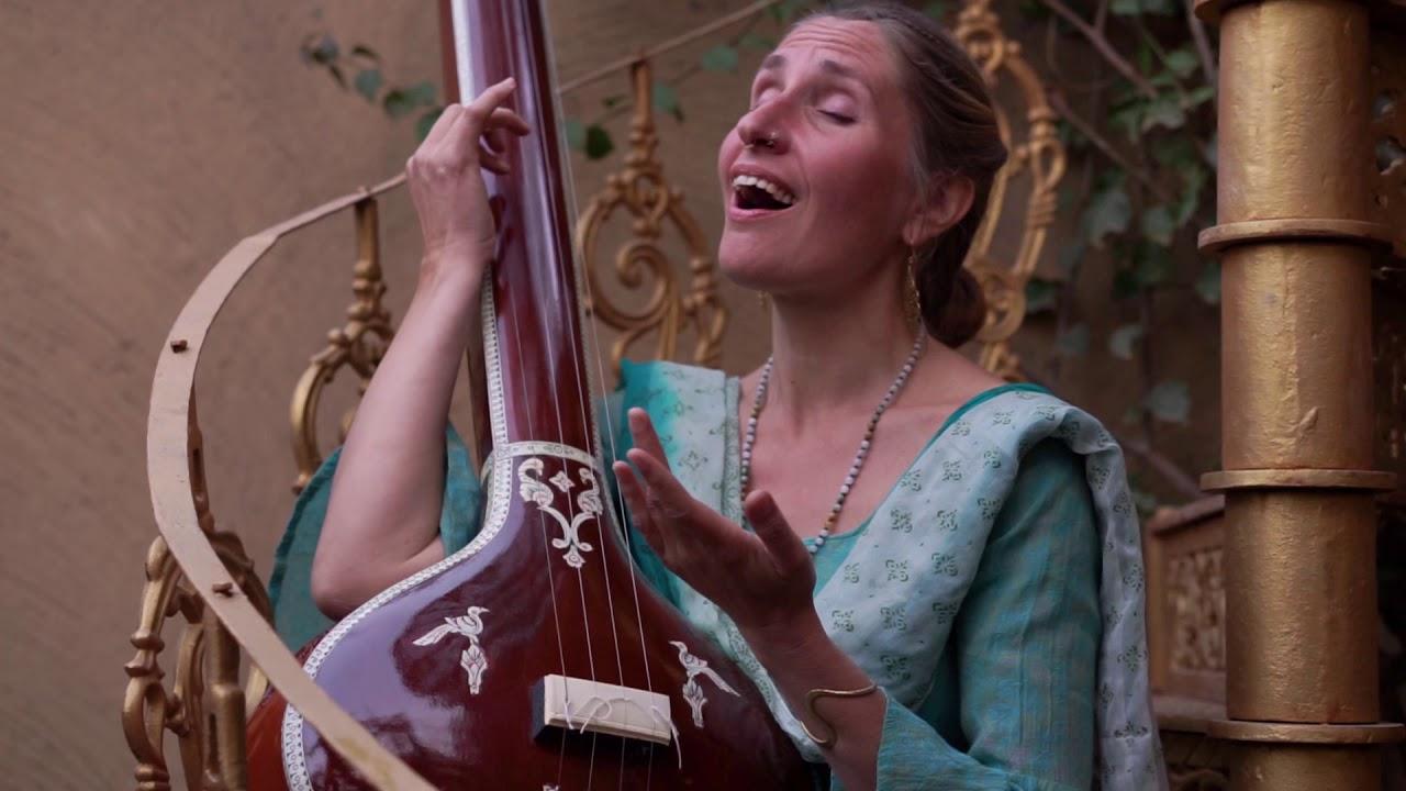KASTURI TILAKAM - Krishangi Lila (Official Music video) (Krishna Bhakti Meditation Music)