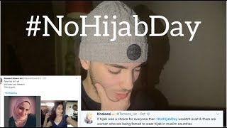 One of Diya Eddine's most viewed videos: TAKING HIJAB OFF FOR SOCIAL MEDIA!! #NoHijabDay
