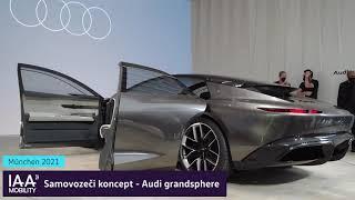 IAA Munich 2021 - AUDI grandsphere, RS e-tron GT, Q4 e-tron