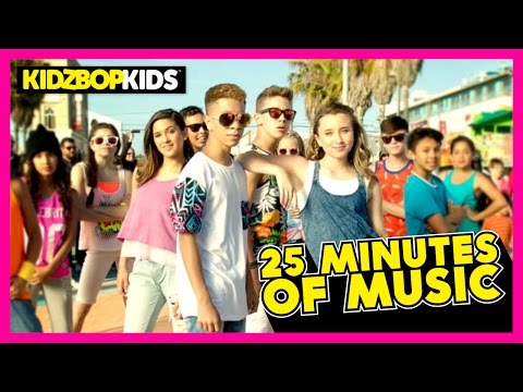 KIDZ BOP Kids - Uptown Funk, GDFR, Sugar, & other top KIDZ BOP songs [25 minutes]