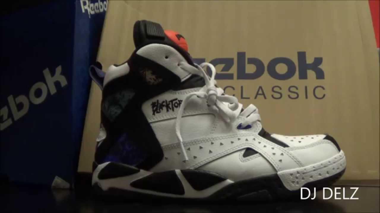 59e79e495e7c Reebok Classics Blacktop Battlegrounds Pump Sneaker Review With Dj Delz