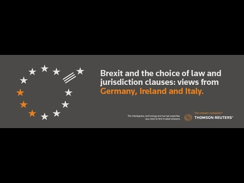 Webinar: Brexit and the choice of law and jurisdiction clauses