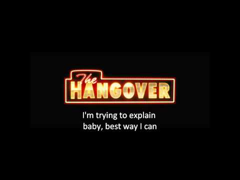 Candyshop-The Hangover Version w/ sing along lyrics
