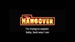 Candyshop-The Hangover Version w/ sing along lyrics