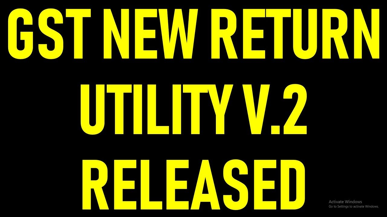 GST PORTAL UPDATE|NEW OFFLINE UTILITY V 2 FOR GST NEW RETURN SYSTEM  ENABLED|GST OFFLINE TOOL