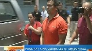 NTG: Paglipat kina Cedric Lee at Simeon Raz sa Taguig City Jail, hindi natuloy