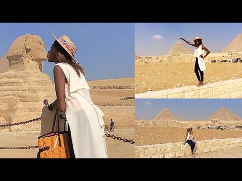 Cairo, Egypt... Kissing Pharaoh