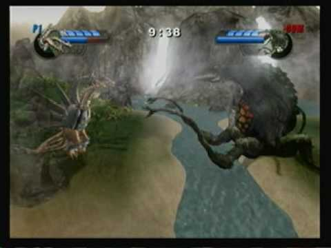 Mecha King Ghidorah vs. Biollante - YouTube