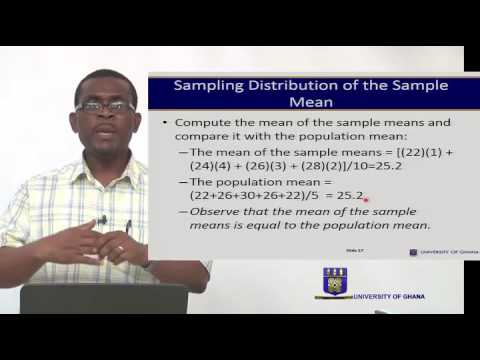 ECON 214-  SESSION 8 – SAMPLING DISTRIBUTIONS