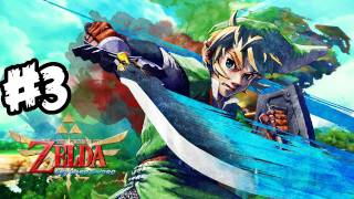 The Legend of Zelda: Skyward Sword Walkthrough Part 3 HD - Sword Time! - Let