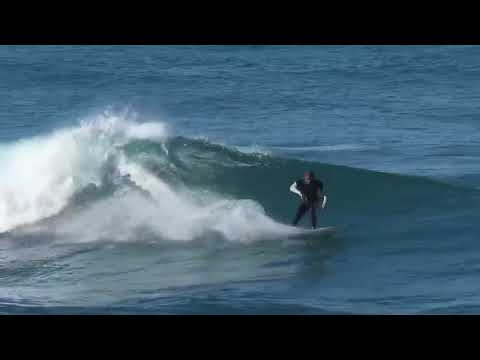 Insane Barrels On a 5-7 Watermark PsychoFish Twin Fin - Chris Ward Surfer