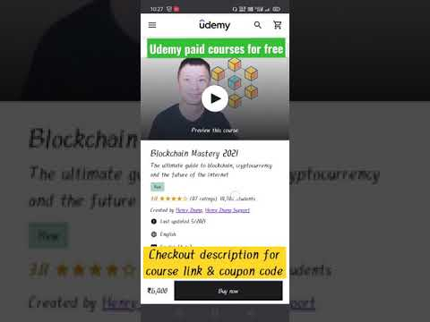 Blockchain Mastery || free udemy courses 🔥 || #shorts #A2Sir #free_courses