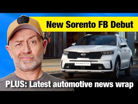 2021 Kia Sorento Debuts On Facebook (& 7 Other Almost-news Reports) | Auto Expert John Cadogan