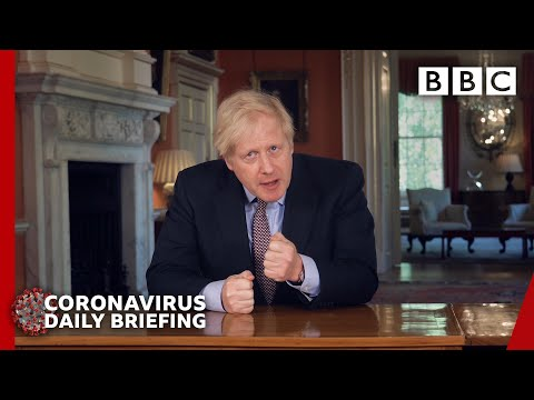 Coronavirus: Boris Johnson updates nation on Covid-19 lockdown 🔴 @BBC News – BBC