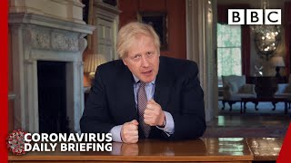 Coronavirus: Boris Johnson updates nation on Covid-19 lockdown 🔴 @BBC News - BBC