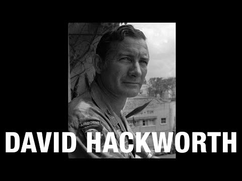 Histury Unhitched - David H Hackworth and his Military Awards