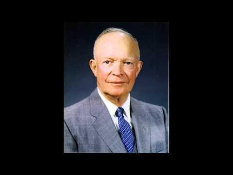 Dwight D.  Eisenhower     Atoms for Peace