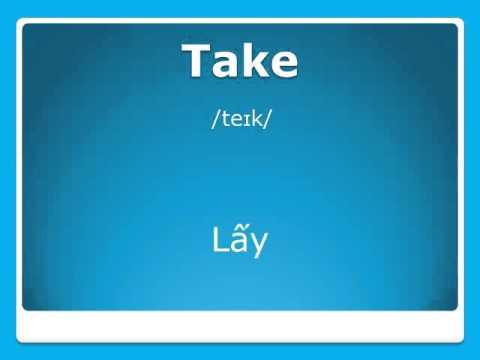 Học tiếng Anh thật dễ - Động từ |Giúp luyện từ vựng cơ bản qua hình ảnh, để giao tiếp hiệu quả
