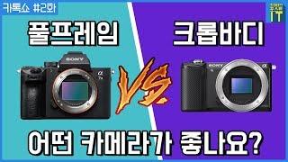 풀프레임 vs 크롭바디 어떤 카메라가 좋나요? (사회:성수커플 이성현) | Talk