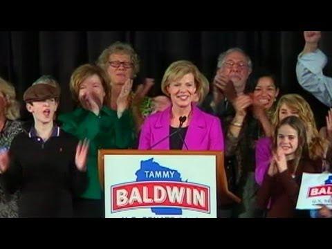 Tammy Baldwin Becomes First Openly Gay Senator