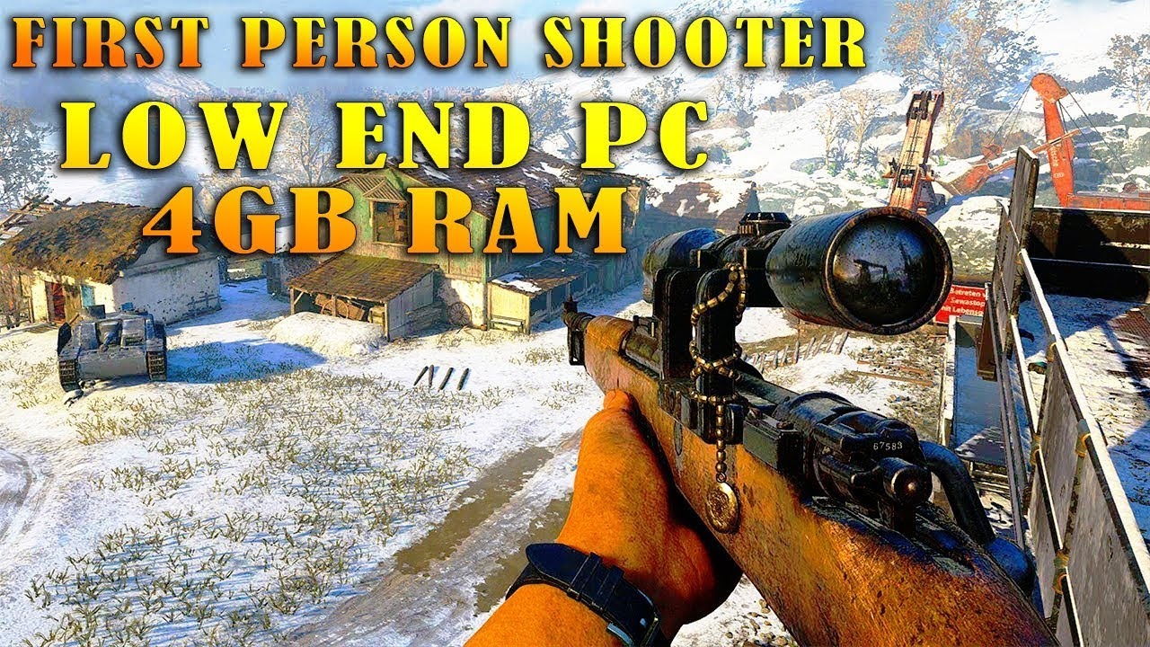 Top 10 Best Fps Games For Low End Pc 2017 Youtube