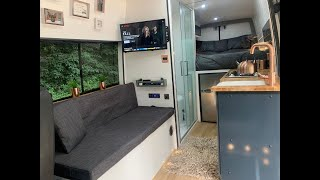 Mercedes Sprinter LWB Camper Van Conversion - Full time lapsed video