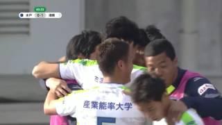 右コーナーキックからグラウンダーのパスを受けた菊地 俊介(湘南)が、...