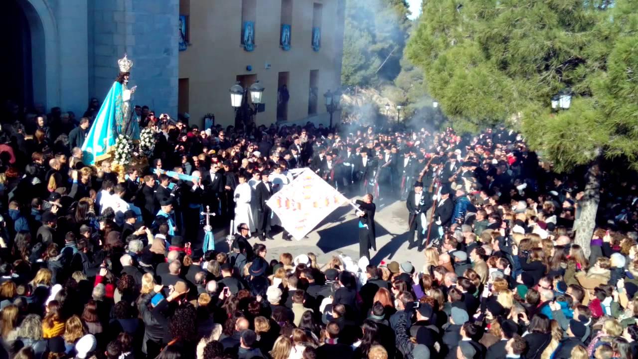 Resultado de imagen de Fiestas de la Virgen, Yecla