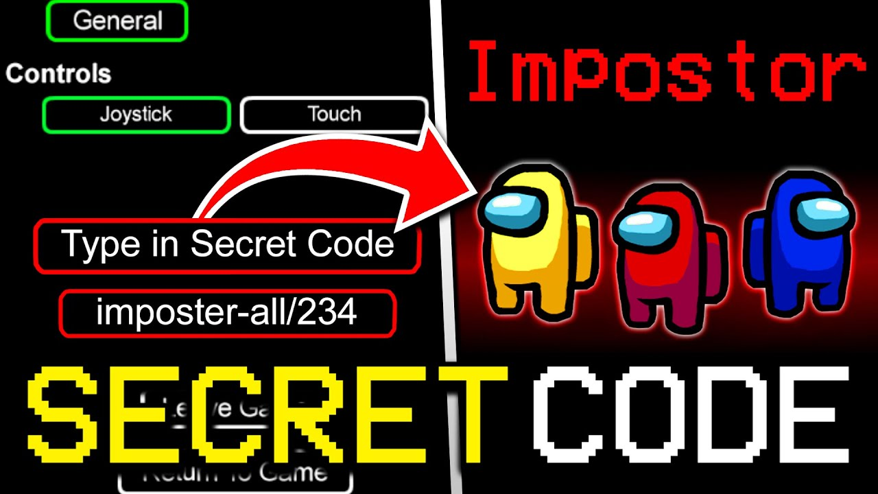 Download SECRET CODE TO GET IMPOSTER EVERY TIME IN AMONG US! (iOS/ANDROID/PC)