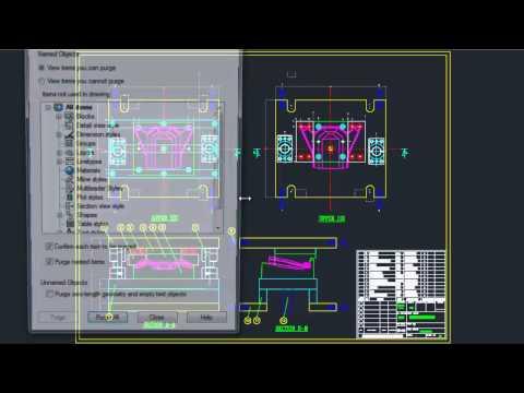Understanding AutoCAD Purge Command