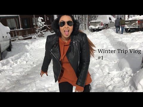 Vlog #1 Winter Cabin Trip (Pinetop Arizona)