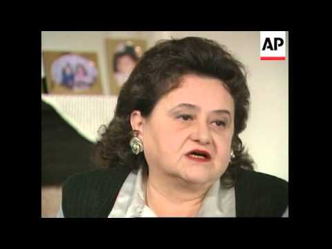 Exclusive APTN interview with wife of Radovan Karadzic