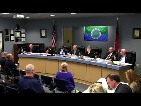 December 5, 2017 Beaufort County Board of Commissioners' Meeting