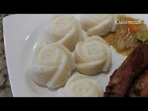 How to make Ablo (steamed rice cakes) || Comment preparer Ablo