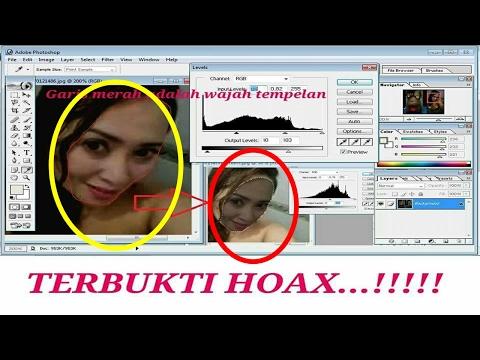 Bukti Foto Firza Husein Selingkuh Hasil Editan, Lihat Cara Editingnya !!