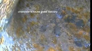 chancelors house guest balcony drain