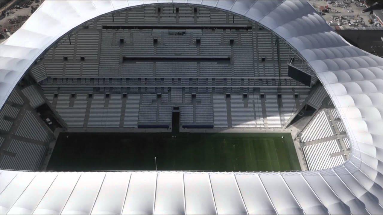 Gros Plan Sur Le Nouveau Stade Vélodrome
